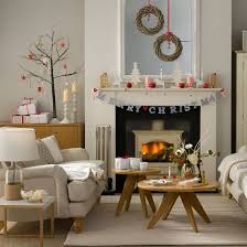 Small Picture Budget Christmas decorating ideas Christmas living rooms