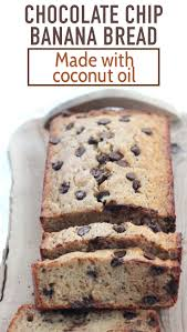 super moist banana bread made with coconut oil