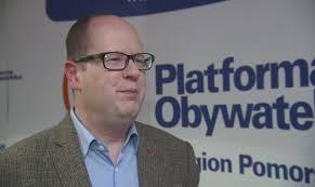 Znalezione obrazy dla zapytania  Paweł Adamowicz platforma obywatelska
