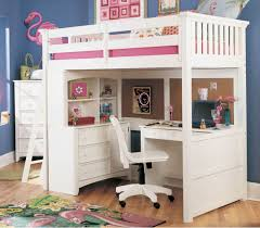 Incredible White Bunk Bed Design Inspiration With White Study ...