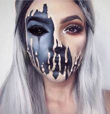 41 most jaw dropping makeup ideas that are still pretty melting face makeup