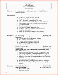 Resume Sample For Dance Teacher Valid 40 Dance Resume Examples Free