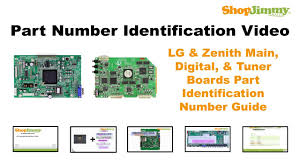 lg tv replacement parts. tv repair tutorial - part number idenfication guide for lg \u0026 zenith main, digital, tuner boards youtube lg tv replacement parts