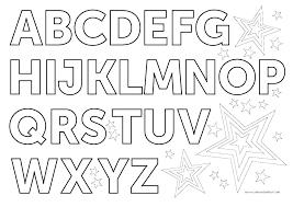 Alphabet Coloring Pages Preschool Pdf Sheets X Free Printable