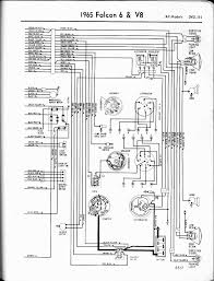 57 65 ford wiring diagrams 1965 6 v8 fairlane left