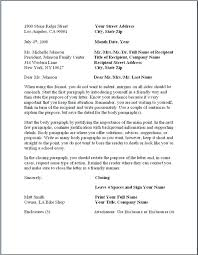 sample of formal business letter formal business letter business email format example best of formal