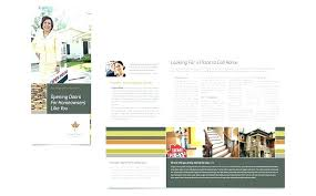 Word Brochure Templates Free Download Handout In Coreldraw