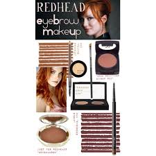 redhead eyebrow makeup s these makeup items and lines