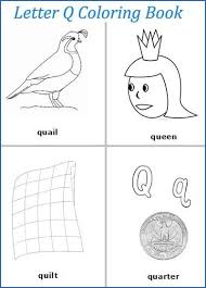 Small Picture Letter Q words coloring pages Preschool items Juxtapost