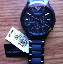 men s emporio armani ceramic chronograph watch ar1452 watch this review is for the ar1451 which i believe the same watch as the ar1452 but a little bigger in size i liked the bigger size stands out more