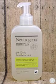 neutrogena naturals the beauty of natural purifying cleaner neutrogena naturals purifying cleanser
