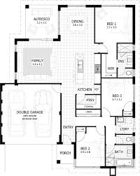 Download 3 Bedroom House Plans With s Home Intercine Bed 2