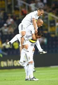 Alex de Souza Roberto Carlos Emre Belözoğlu Fenerbahçe   Futbolcular, Spor,  Takım fotoğrafları