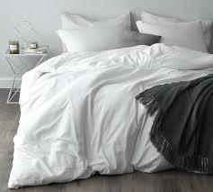 duvet cover white bedding king 500 thread size set