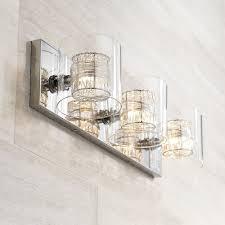 possini euro design wrapped wire 22 wide bathroom light vanity lighting fixtures com