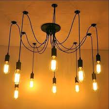 round light bulbs for chandelier light bulb chandelier vintage village cafe restaurant bar spider lamp with round light bulbs for chandelier