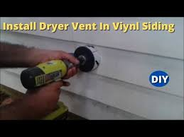 how to install dryer vent and make a