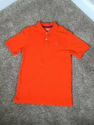Details About Kids Boys Orange Izod Collared Polo Shirt Dress Large Lg 14 16 Regular Fit 129