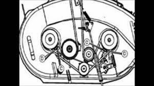 riding mower deck belt diagram diy riding mower deck belt diagram diy