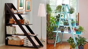 Creative Wooden Ladder Interior room decoration ideas