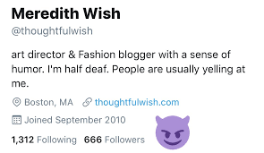 "Meredith Wish on Twitter: ""I see you Satan.… """