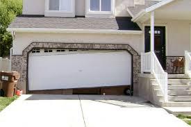installing garage door track yourself designs