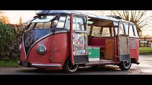 rikki james vw split screen barndoor samba 1954 the video volks you
