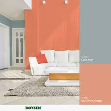 Boysen Philippines Color Chart The Color Of Summer Orange Can Quickly Spruce Up And
