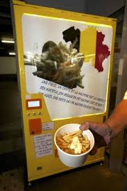 French Vending Machine Simple French Fry Vending Machine Incredible Things
