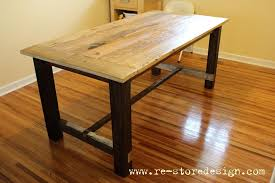 reclaimed wood furniture plans. Reclaimed Wood Farm Table - DIY Projects Furniture Plans