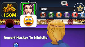 8 ball pool how to report hacker to