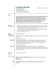 college dropout resume sample resume for first job college student resume  pertaining to student college dropout