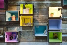 Assi Di Legno Colorate : Librerie fai da te idee originali eticamente