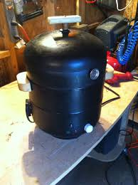 introduction diy smoker from 2 rusted propane tank