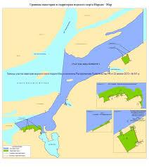 Нарьян Мар ФГБУ Администрация морских портов Западной Арктики Граница акватории морского порта Нарьян Мар