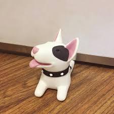 Cute Bull Terrier Door Stopper