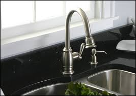 Brushed Nickel Faucet Kitchen The Way To Clean Moen Brushed Nickel Kitchen Faucet
