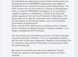 applebee s overnight social media me own a photo essay r l  i was to put it plainly stunned surely this was someone using a fake applebee s page to make a comment commenting on your own status update during the