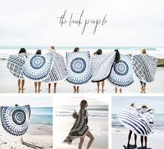 beach towels on the beach. The Beach People Round Towel Towels Mat Rug Decor ROUNDIE TOWEL On