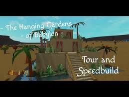 the hanging gardens of babylon tour