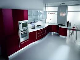 Kitchen Cabinets Painted Red Chalk Paint For Red Kitchen Cabinets Australia Repainting Kitchen