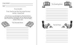 charlie and the chocolate factory by roald dahl teaching resources charlie and the chocolate factory printable worksheets for student projects