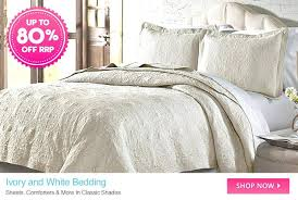 off white bedding ivory and up to diamond stone cookware bed bath curtain bonds jockey last off white bedding