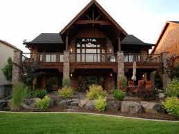 daylight basement home plans lovely lake house plans with walkout basement of daylight basement home plans