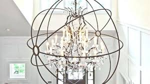 fantastic extra large orb chandelier wonderful with great lighting ceiling fans large metal orb chandelier