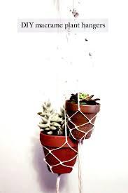 diy hanging plant holder easy simple macrame plant hangers diy hanging planter holder