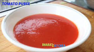 Once the tomato is blended, put the paste into a deep cooking pan adding 8 tbsp. How To Make Tomato Puree Perfect Tomato Puree Recipe By Bharatzkitchen Youtube