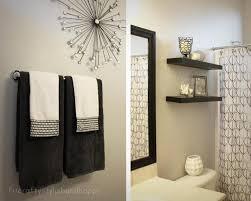 Attractive Bathroom Towel Display DEcoration