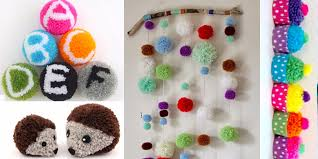 diy pom pom crafts for teens and s make cute bedroom decor and diy gifts