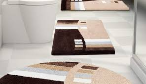 runner yellow gray marvelous rugs bathroom sets set cotton rug bath silver patterned charcoal white light